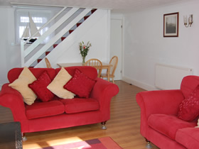 Holiday Cottage Penzance Living Room